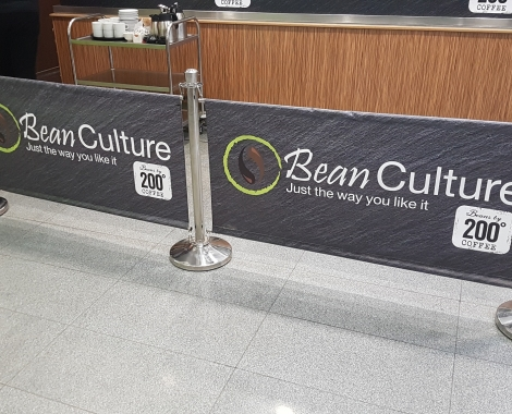 bean culture - que banners