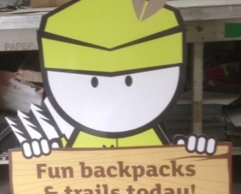 correx cutout - backpakcstrails